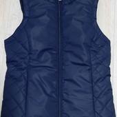Тёплая стеганая жилетка для девочки от Tchibo р. 134-140