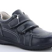 Кожаные спортивные туфли для деток, 26р