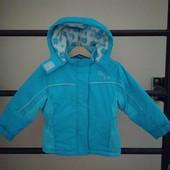 Теплая зимняя курточка 2-3г, 92-98р.