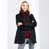 Стильное, теплое зимнее пальто-пуховик (40% шерсть ) от Tchibo (германия) размер 46 евро=52