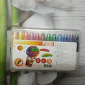 Lidl, Германия, набор толстых гелевых цветных карандашей, 12 цветов