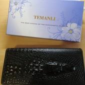 Кожаный кошелёк Temanli, новый