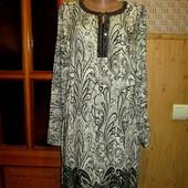 Качество! Натуральное платье/рубашка от бренда LC Waikiki, в новом состоянии