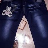 Новые джинсы 1.5-2.5 года.смотрите замеры
