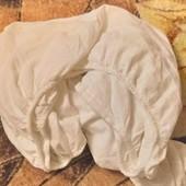 простыня на резинке фланель