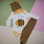 Весёлый костюмчик с пчелкой