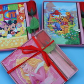 Красивый подарочный набор: блокнот с ключем + роза. Один на выбор