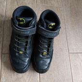 Деми ботинки, хайтопы Disney. Стелька 23 см.Шнуровка резинка + липучка.