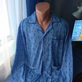 Мужская пижамная рубашка, р.M/L