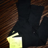Черные носки без резинки, р.43-45, в лоте 3 шт