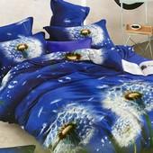 Полуторный бязевый постельный комплект. 80% хлопок, 20% полиэстер. Расцветка фото 1