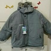 Новая зимняя куртка 110-116