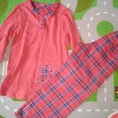 Пижама на 5-6 лет, смотрите замеры, состояние отличное