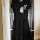 Модная молодежная туника платье с фатином ONLY