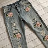 Стильные джинсы размер S
