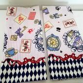 Алиса! Набор ярких полотенец из хлопка отличного качества!