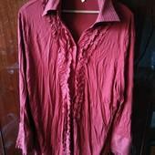 Блуза красная, 54 размер