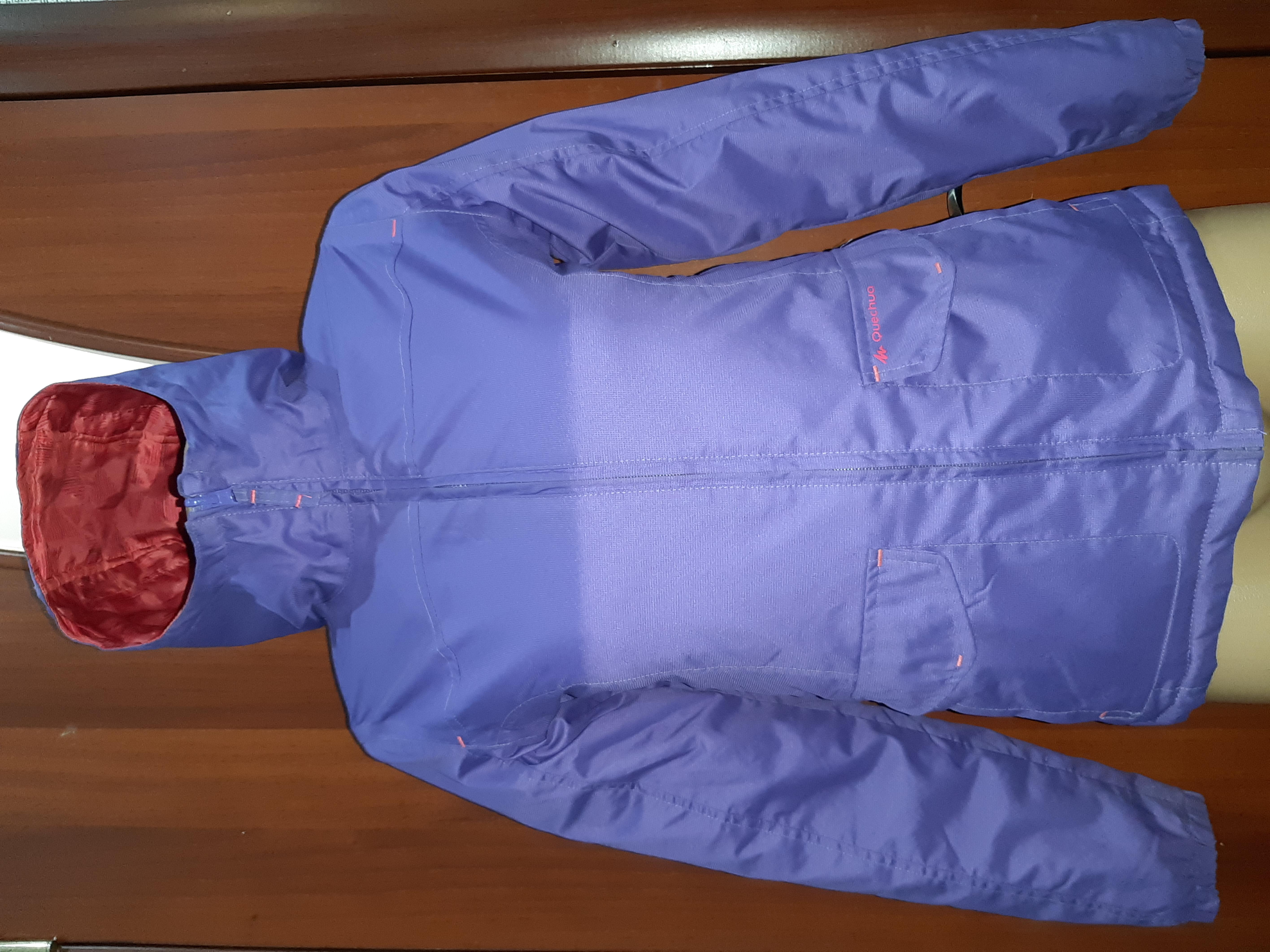 Куртка-Деми Двухстороняя,фирмы Quechua,Состояние Отличное!