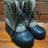 Кожаные водонепроницаемые ботинки,сапоги,чобітки,гумаки,унисекс, arctic snow experience!
