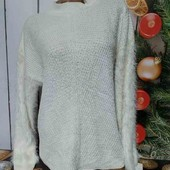 Тёпленький мягусенький свитерок,р.S/M