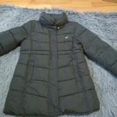 Пальто - дутик, на девочку рост 116, без капишона