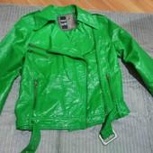 Лакированная куртка - косуха, размер евро L, новая