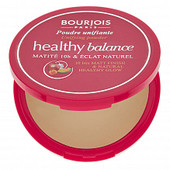 Выравнивающая пудра Bourjois Healthy Balance, матирующая, с легкой текстурой. 55 тон