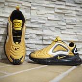 Жёлтые кроссы Nike air 720