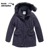 Теплая куртка-парка еврозима blue motion германия, размер S 36/38евро (наш 42/44)