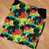 Трикотажная стрейчевая юбка карандаш
