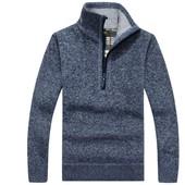 Мужской свитер новый с флисовой подкладкой остатки 2 цвета