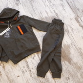 Модный практичный спорт костюм мальчику 3'года,98рост