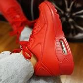 Последние++++Крутые кроссовки))), цвет красный, 36-23см!