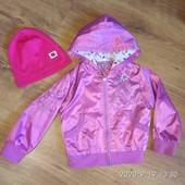 Куртка 3-4 р+ шапочка.