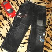 ☆УП-скидка 10%!Модные вельветовые джинсы с аппликаций!2-3года