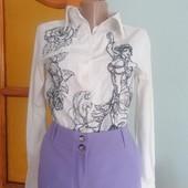 Брюки+рубашка +блузка, р. 44-46