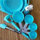 набор кухонных принадлежностей терка ложки мерные