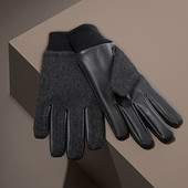 ☘ В'язані рукавиці з утеплювачем thinsulate від Tchibo (Німеччина), розмір: 9,5