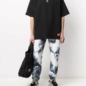 ☘ Лот 1 шт ☘ Спортивні штани в стилі тай-дай від Boohoo Man (Німеччина), розмір 40