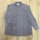 ☘ Лот 1 шт ☘ Чоловіча сорочка у клітинку від Leonardo (Німеччина), розмір 44 XL євро