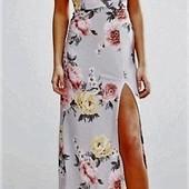 Качество! Стильное макси платье от модого бренда Boohoo