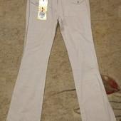 Собирайте мои лоты! Новые брюки, тонкий лён! Размер 44-46. Ремень в комплекте.