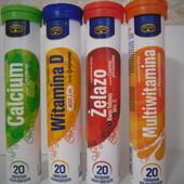 Шипучие витамины ,20 таблеток в тубе!В лоте один.В наличии мультивитамин и железо