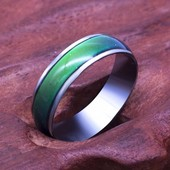 Необычное кольцо настроения. Изменяет цвет. Рр 17, 20 на выбор