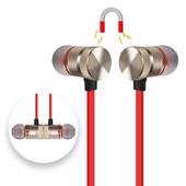 Bluetooth наушники с микрофоном, переключателем треков и регулировкой громкости + кабель