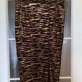 Модная стрейчевая юбка из бархата Boohoo