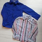 2 рубашки на 4-5 лет в очень хорошем состоянии