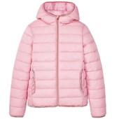 Германия!!! Нереально крутая зефирка! Стеганая демисезонная куртка, курточка для девочки! 122 рост!