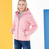 Германия!!! Нереально крутая зефирка! Стеганая демисезонная куртка, курточка для девочки! 146 рост!