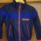 Спортивная Куртка, ветровка, р. 6 лет 116 см, состояние хорошее